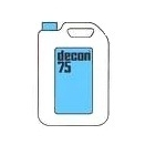 D7520 Decon 75 20L laboratory detergent surface active cleaning agent radioactive decontaminant (pack of 1)