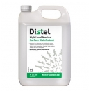 TM307 Distel Trigene Advance 5L non fragranced clear concentrate high level medical surface disinfectant (pack of 1)
