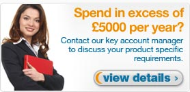 Spend in excess of £5000 per year?